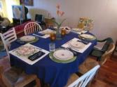 New Year Table Setting